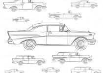 1957 Chevy Model Identification